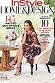 lea michele covers instyles home and design issue 01