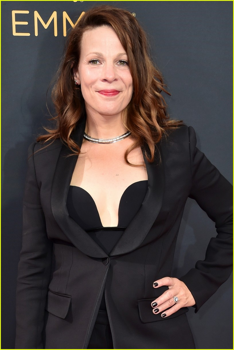 Full Sized Photo of regina king lili taylor step out at ... Emmys 2016