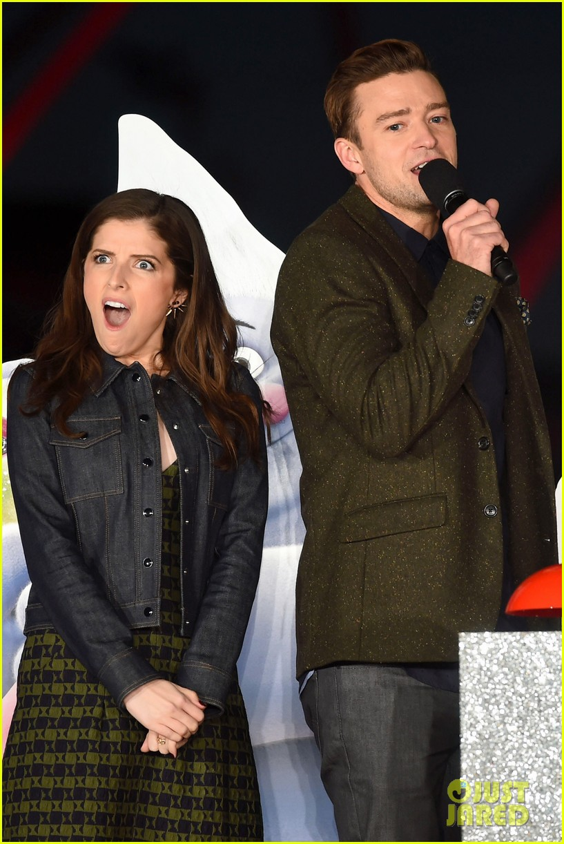 Justin Timberlake & Anna Kendrick Light the London Eye with 'Trolls ... Justin Timberlake