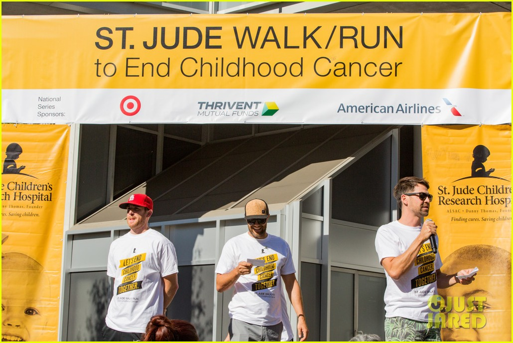 ashley tisdale lucy hale more st jude cancer walk 073769576