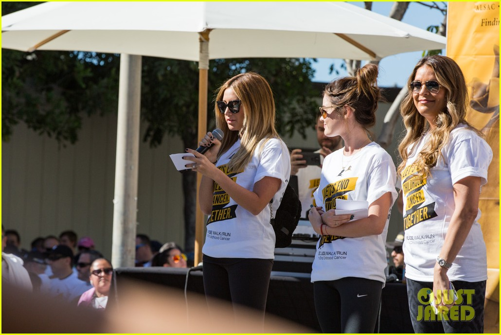 ashley tisdale lucy hale more st jude cancer walk 163769585