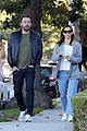 ben affleck jennifer garner drop the kids at school together 09