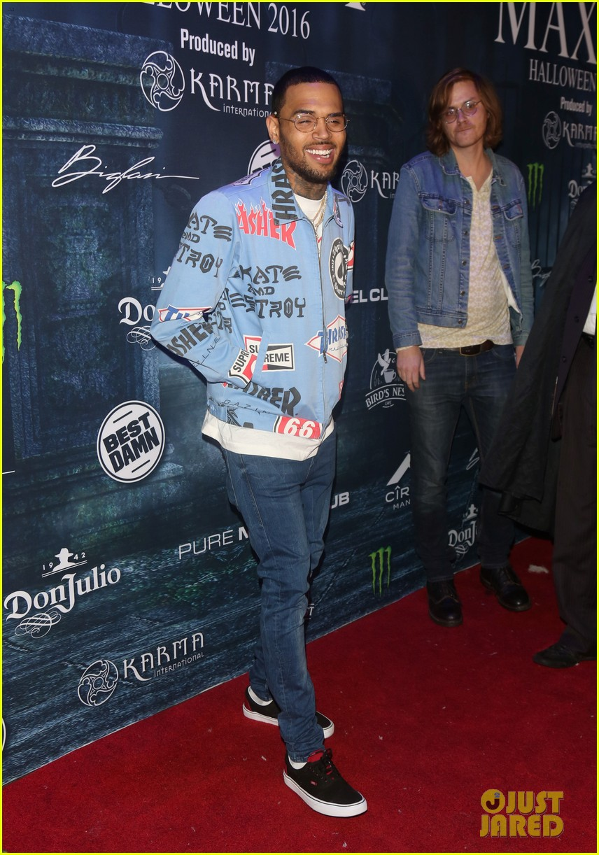 chris brown maxim 2016 halloween party 173791746