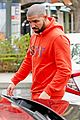 drake wears orange sweats for lunch 19