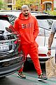 drake wears orange sweats for lunch 22