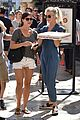 julianne hough picks up pizza at the grove 13