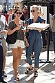 julianne hough picks up pizza at the grove 15