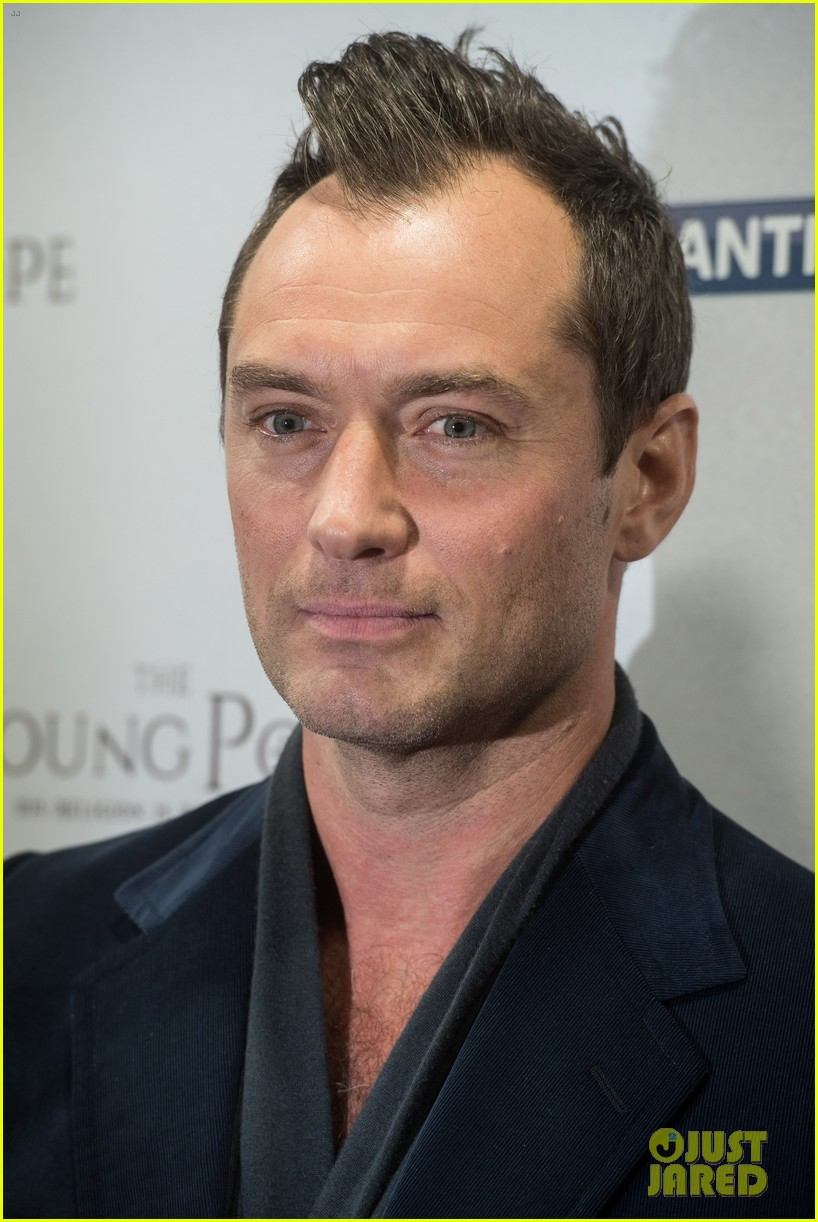 Full Sized Photo of jude law gets son rafferty support at ...