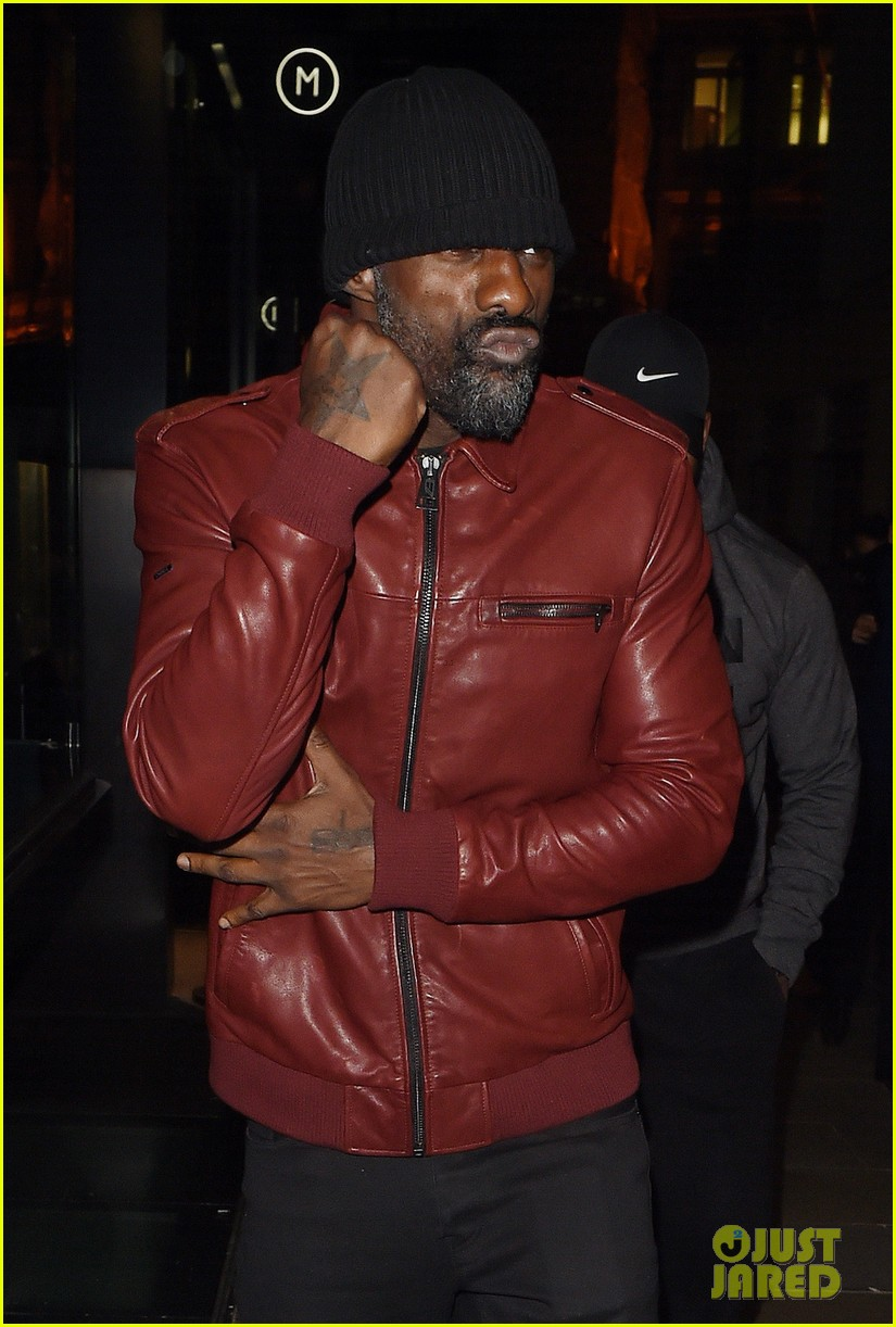 madonna  u0026 idris elba arrive at a party in london together