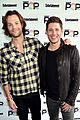 jared padalecki and jensen ackles bring supernatural to ew  popfest 06