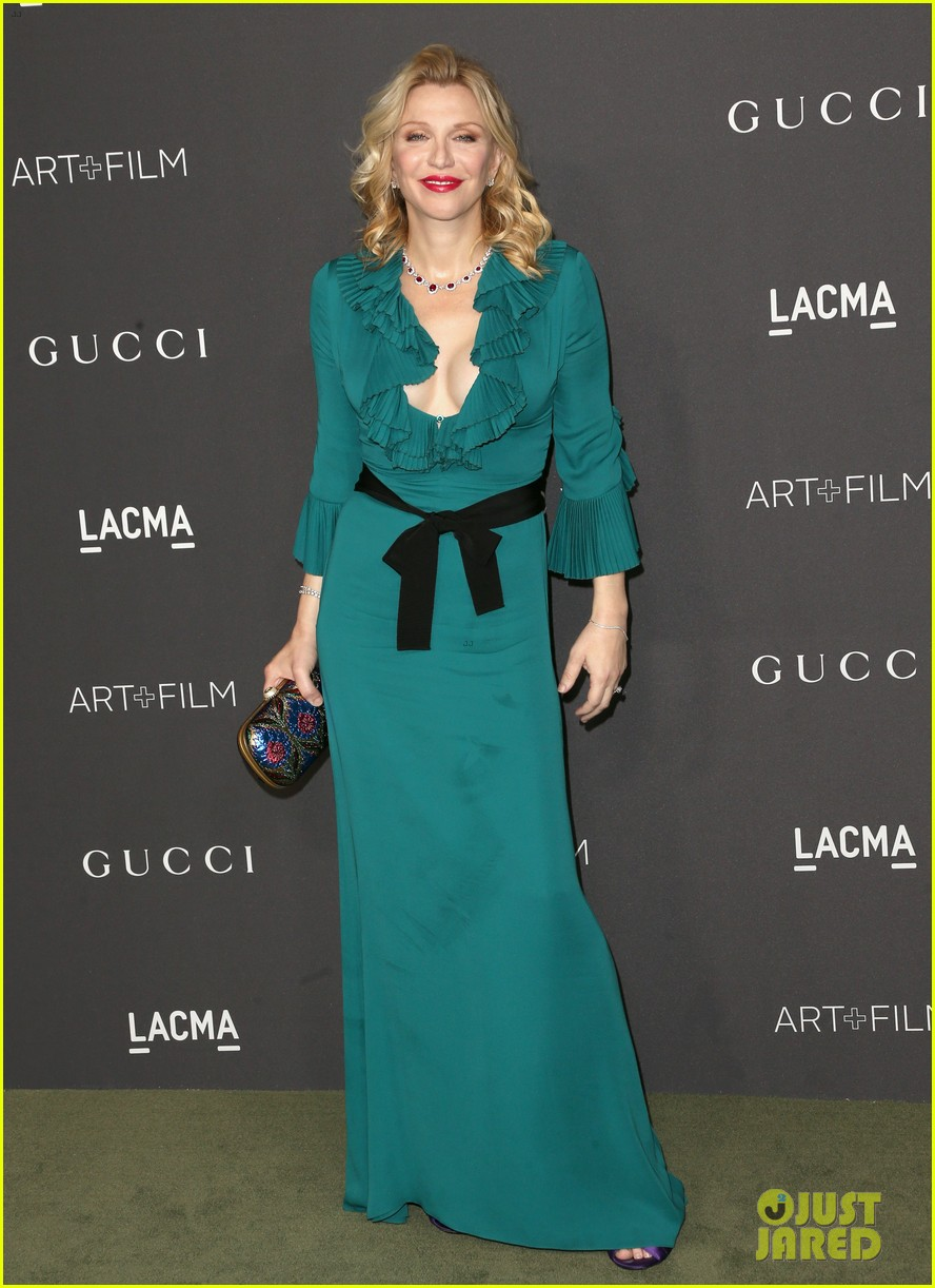 Gwyneth Paltrow & Demi Moore Get Glam in Gucci for LACMA Gala: Photo ...