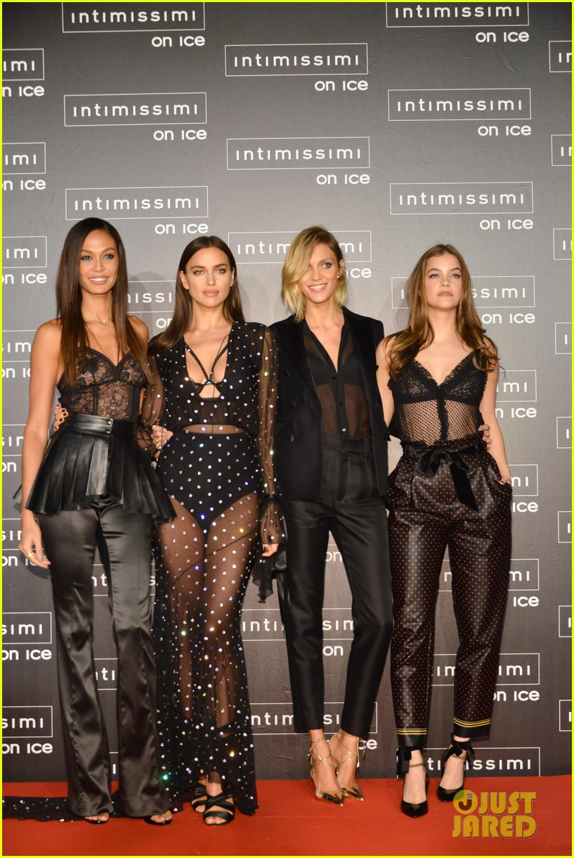 About this photo set: Joan Smalls, Irina Shayk, Barbara Palvin and Anja Rubik all pose for a stunning group pic while arriving at the 2016 Intimissimi On Ice held at the Arena of Verona… Read More Here