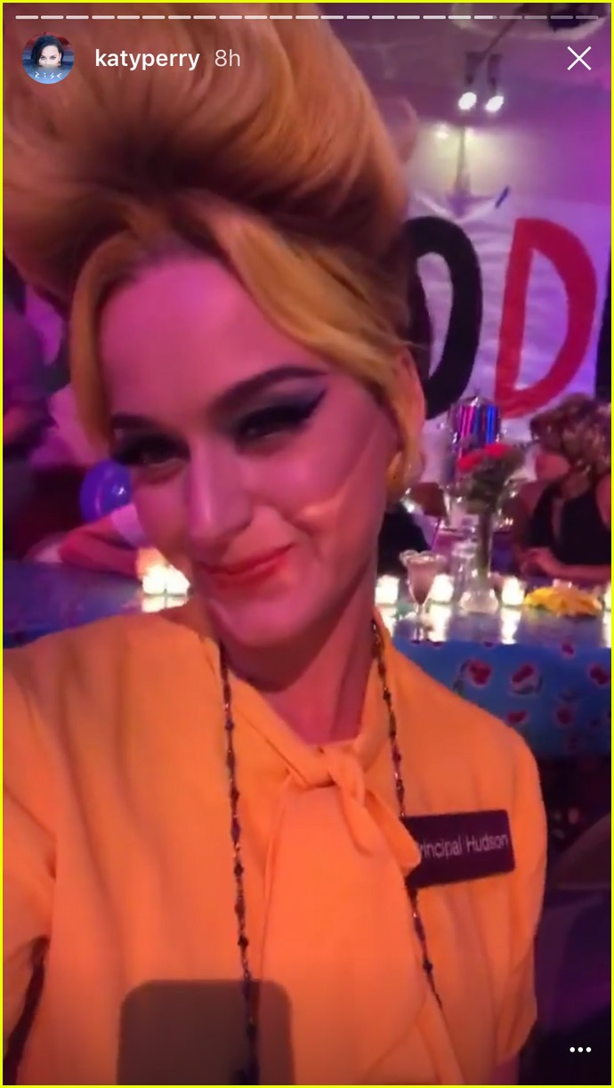 Katy Perry & Orlando Bloom Do the 50s for Her Halloween Party ...
