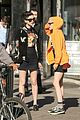 kristen st vincent grab lunch together in nyc00808mytext