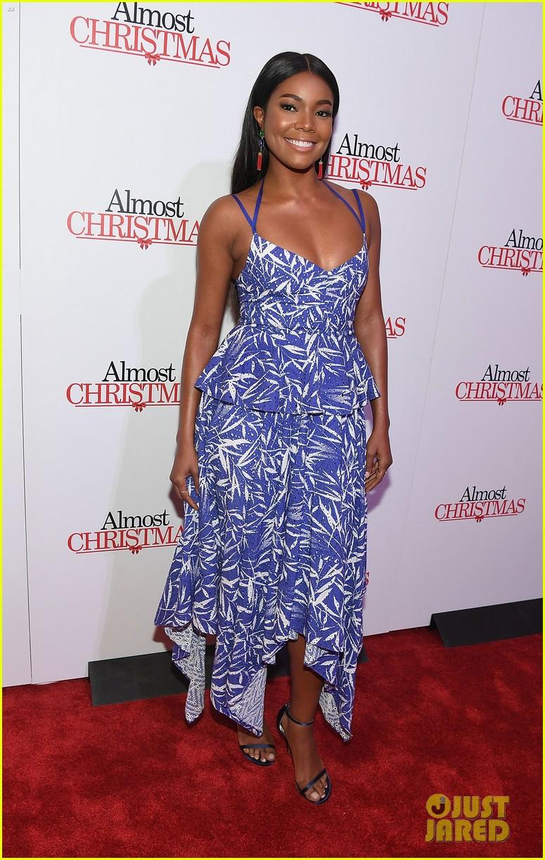 Gabrielle Union Celebrates Birthday At Almost Christmas