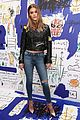 nina agdal and victoria justice step out for alice and olivia launch party 16