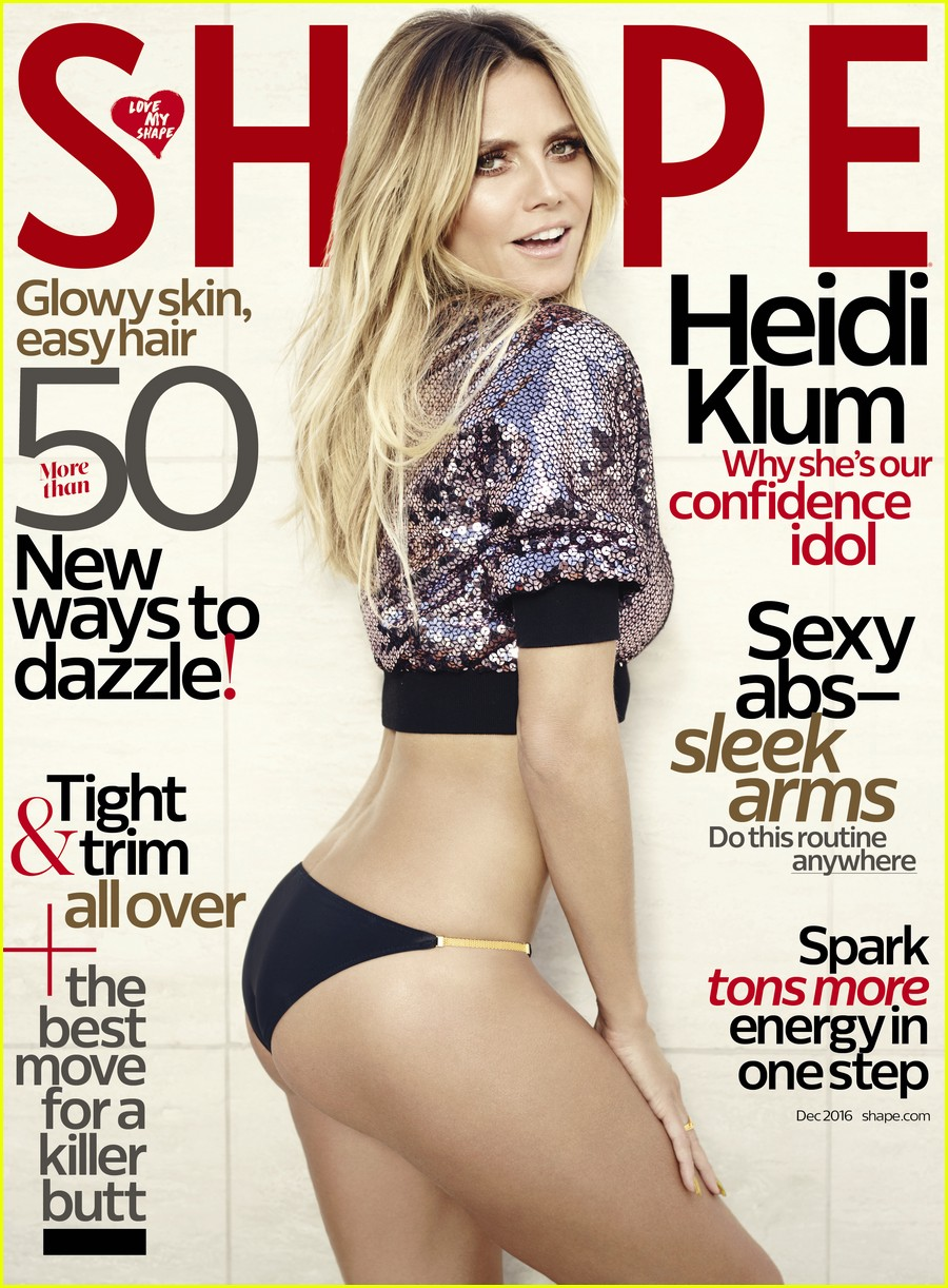 Full Sized Photo of heidi klum shape magazine 05 | Photo 3806476 ...
