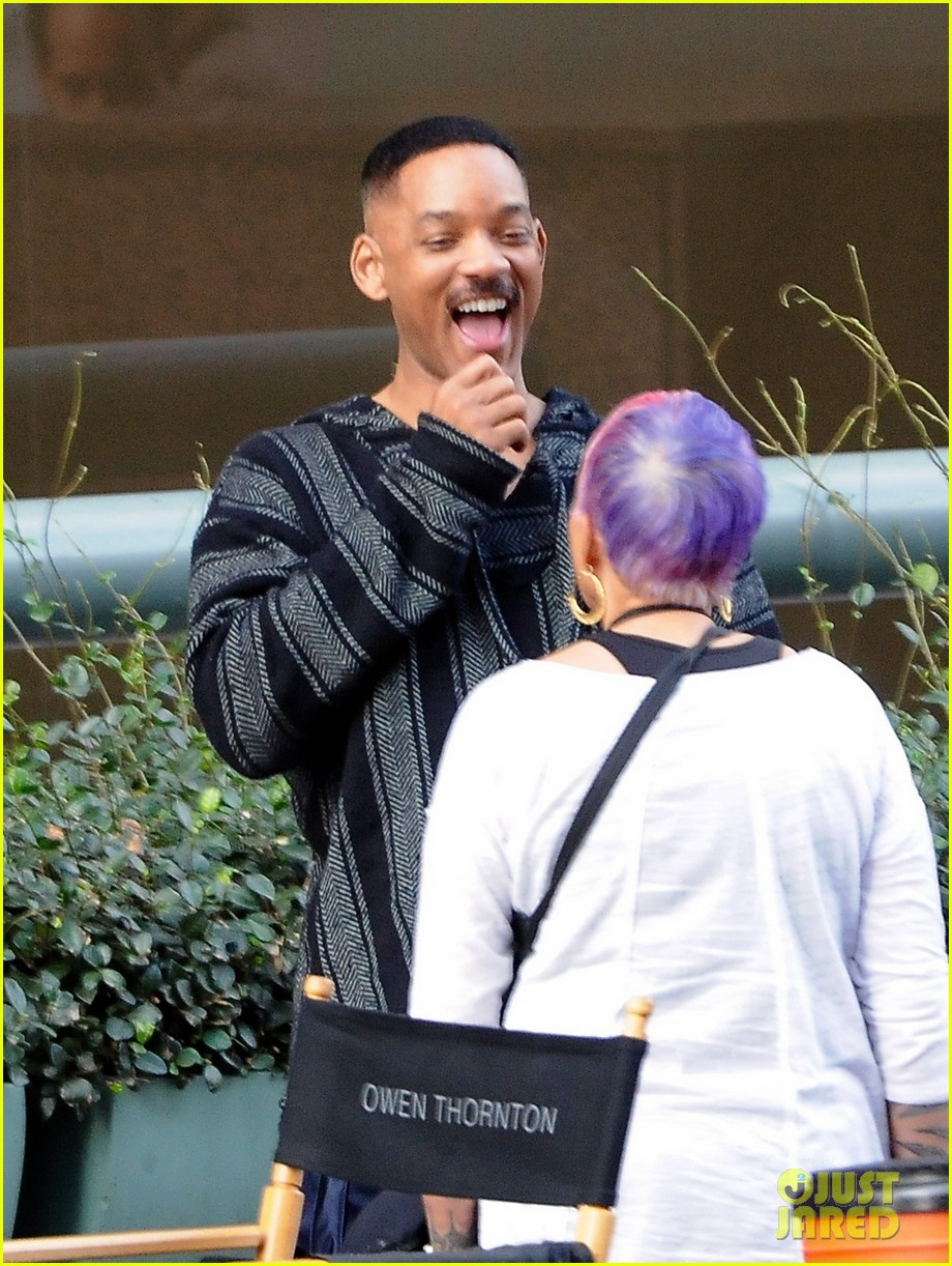 will smith brings lots of laughs to bright set 013807297