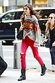 taylor hill heads to a victorias secret fashion show fitting 01