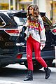 taylor hill heads to a victorias secret fashion show fitting 07