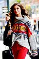 taylor hill heads to a victorias secret fashion show fitting 15