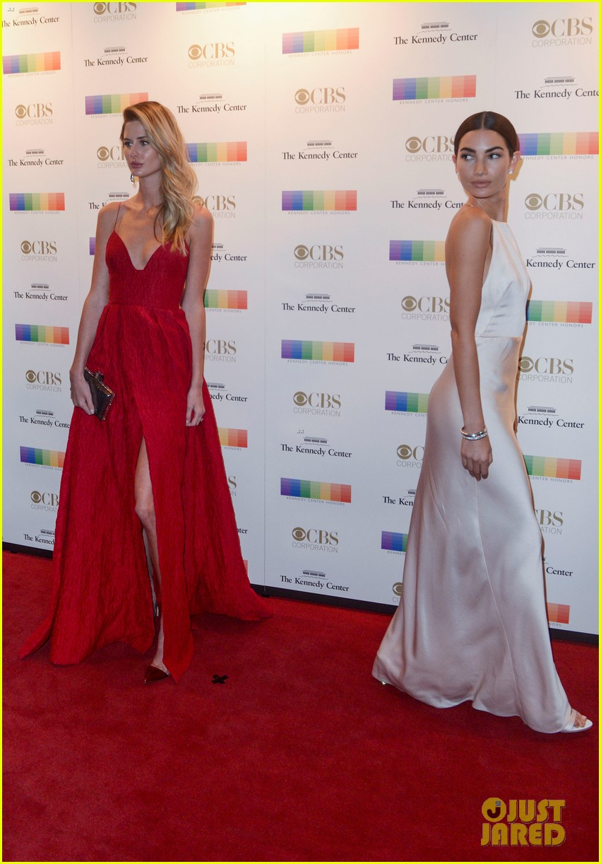 lily aldridge kings of leon rock red carpet at 2016 kennedy center honors 073821260