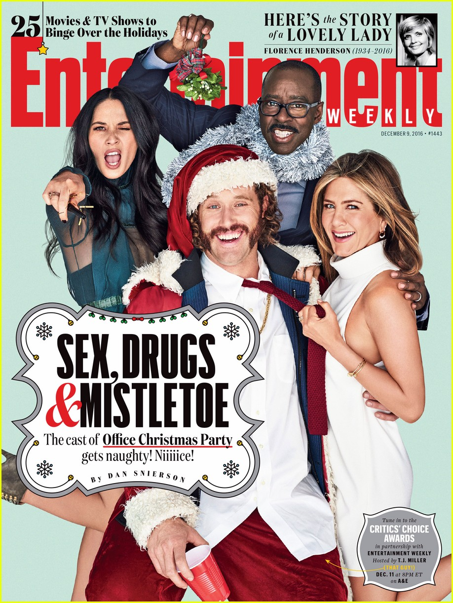 jennifer aniston office christmas party ew cover3819235