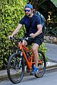 bradley cooper goes on bike ride for his daily workout 07