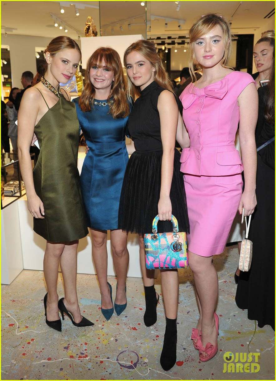 About Photo #3823166: Britt Robertson, Zoey Deutch and Halston Sage are such a fashionable trio! The ladies stepped out in some chic looks at the Dior Lady Art Pop-Up Boutique opening… Read More Here