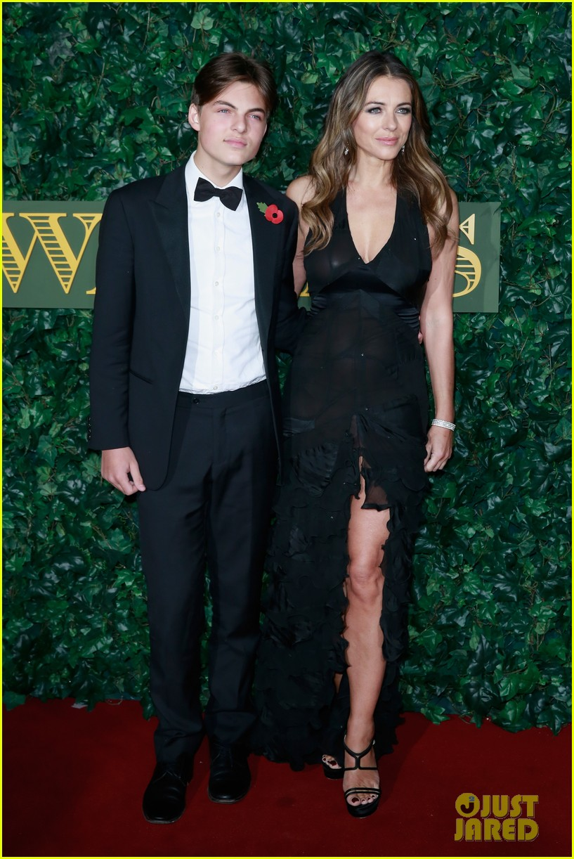 elizabeth hurley praises son damian debut on the royals 013830404