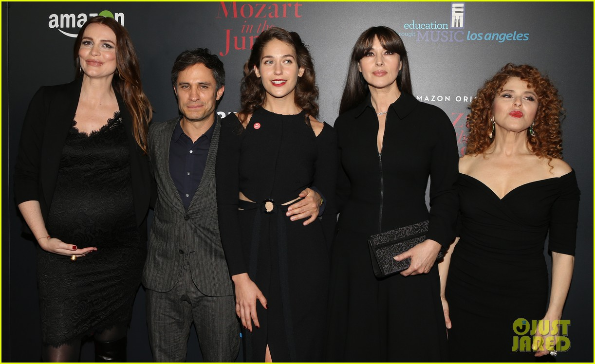 gael garcia bernal and mozart in the jungle cast premiere season three in la 053819546