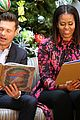 michelle obama and ryan seacrest read christmas classics at childrens hospital 06