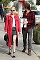 emma roberts and evan peters step out to mail their christmas gifts 10