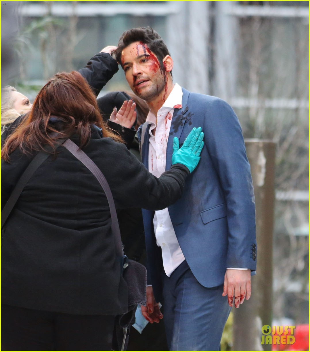 Tom Ellis Is Covered i...