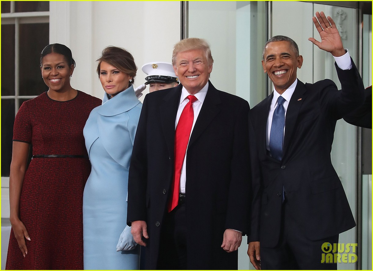 obamas meet trumps on inauguration day 063845096