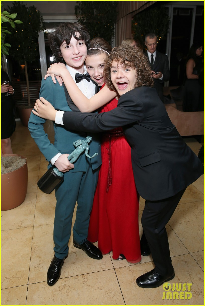 The Stranger Things Kids Danced The Night Away After SAG Awards Win Photos Photo 3850277