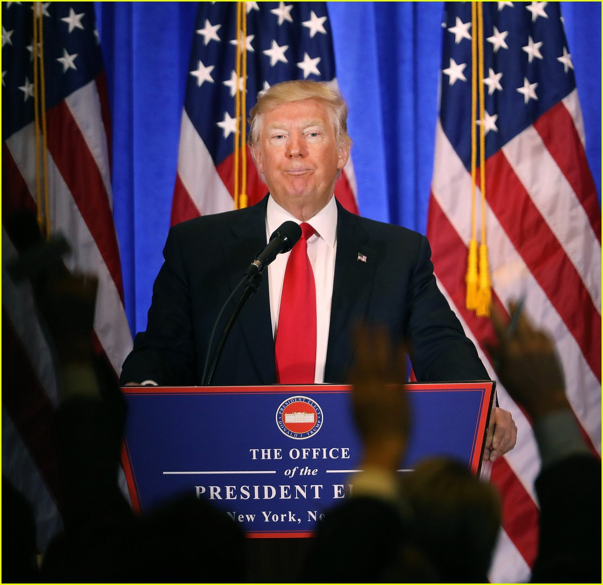 donald trump refuses to call on cnn reporter 113841167