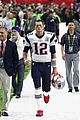 tom brady hits the super bowl field before the big game 03