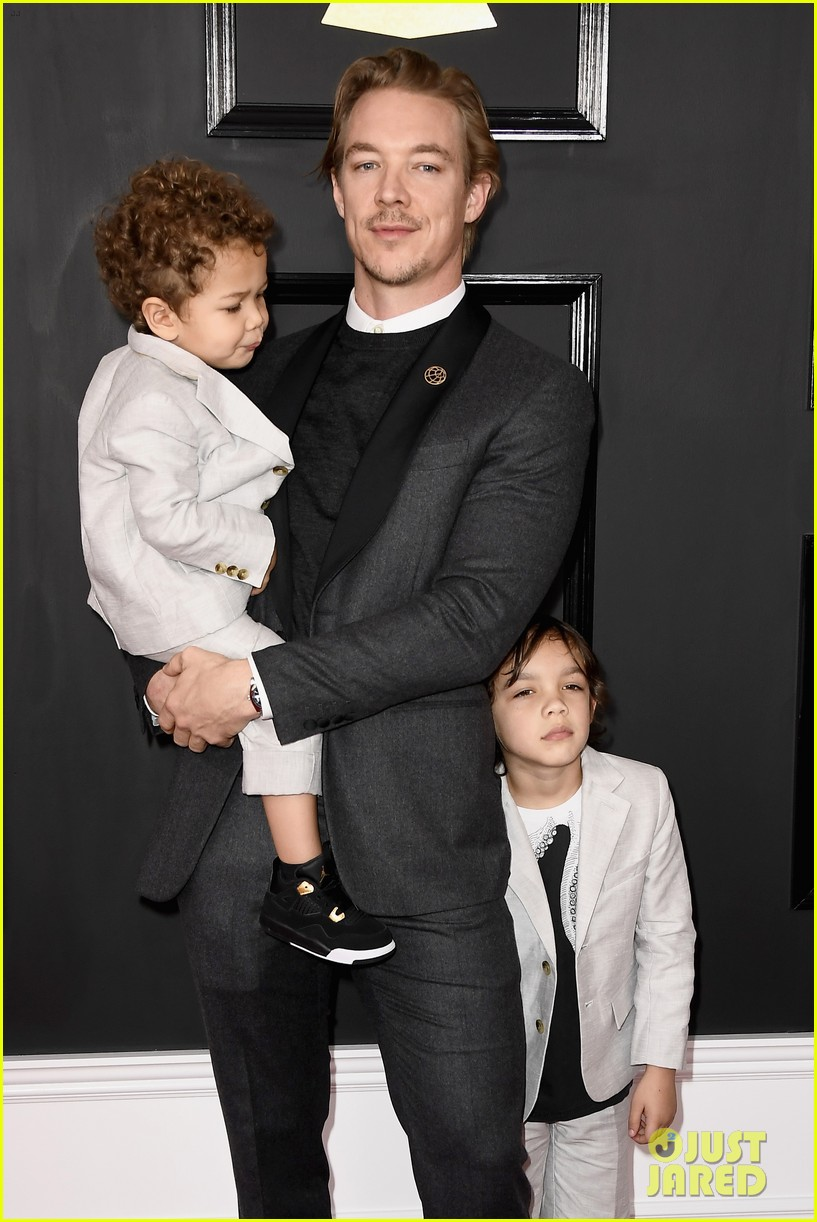 Diplo Son >> Diplo S Two Sons Might Be Cutest Grammys 2017 Dates Photo