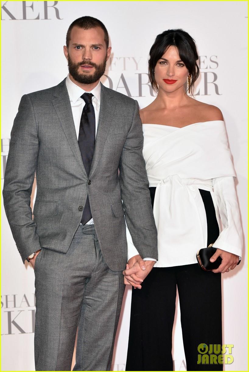 Jamie Dornan & Wife Amelia Warner Look So In Love at 'Fifty Shades Darker' London Premiere ...