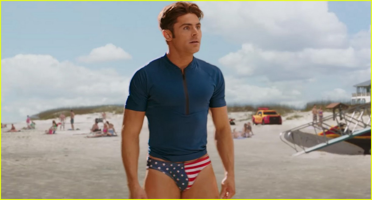 zac efron speedo baywatch super bowl commercial 053853723