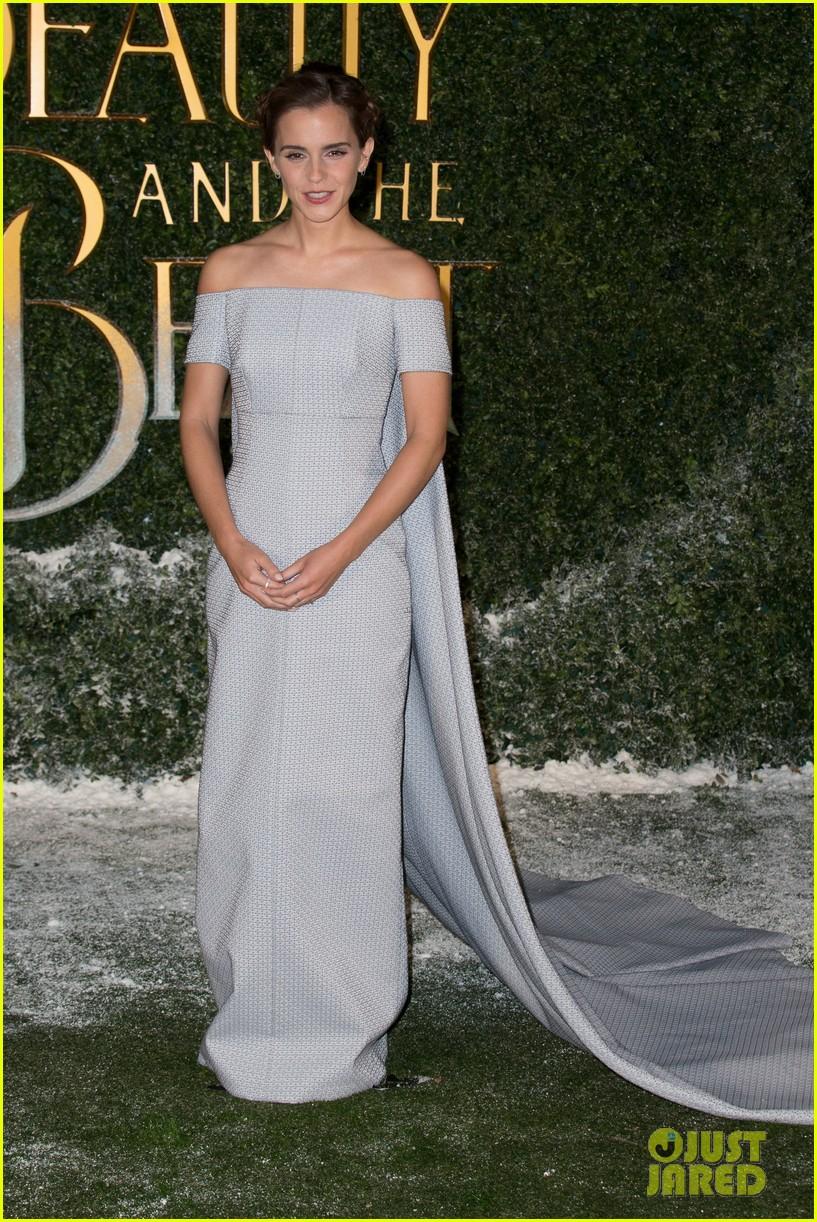 Emma Watson & Dan Stevens Team Up For 'Beauty & the Beast' London Premiere: Photo 3864416 ...