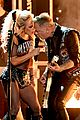 lady gaga metallica grammys performance 2017 15