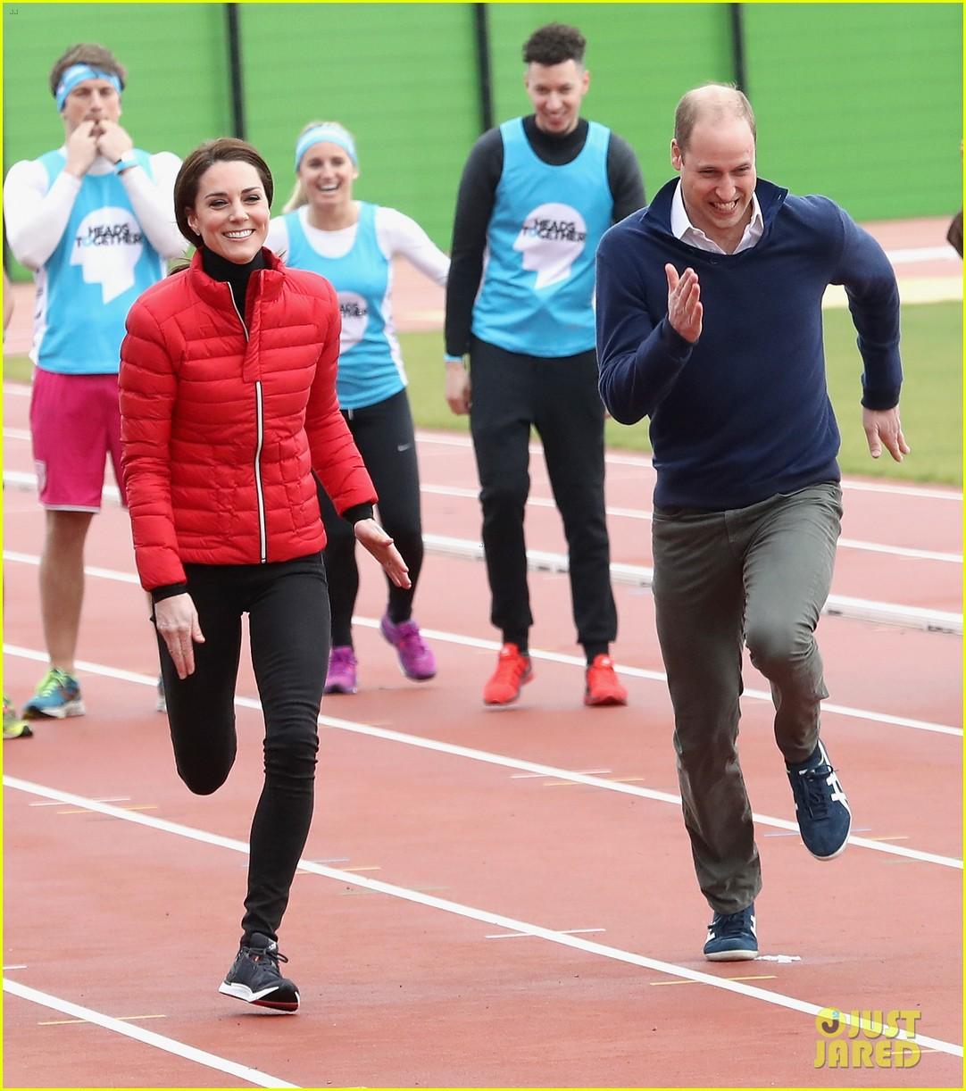 prince harry william kate run track 113853357