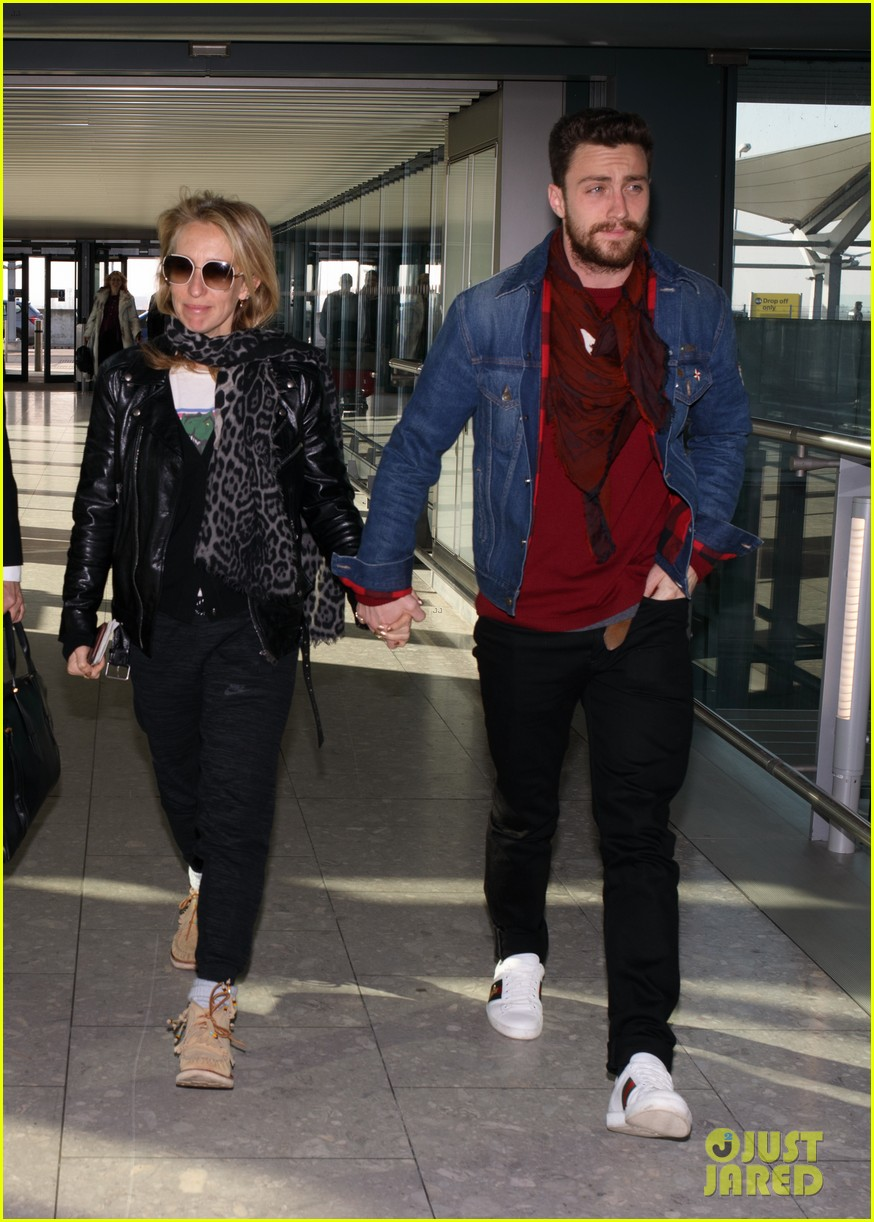 Aaron Taylor-Johnson Opens Up About His Age Gap From Wife ...
