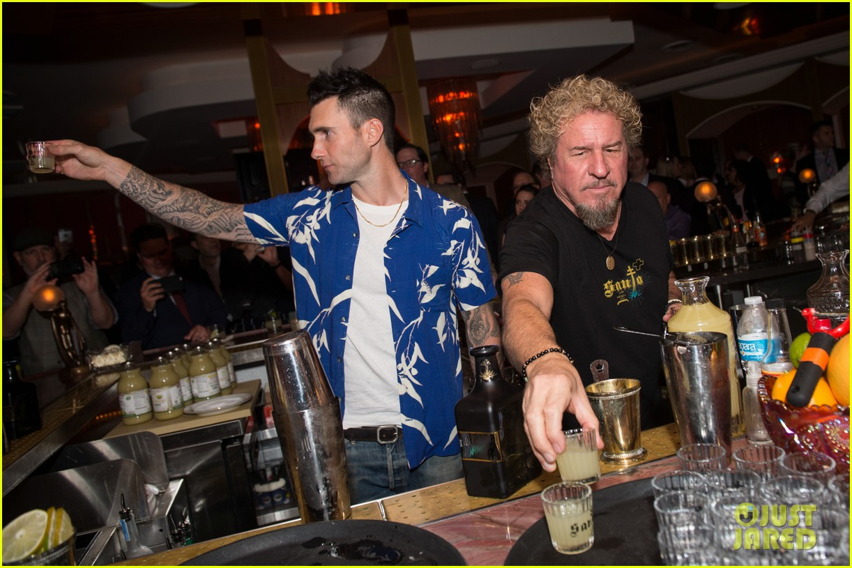 adam levine launches his first line of tequila 043856412