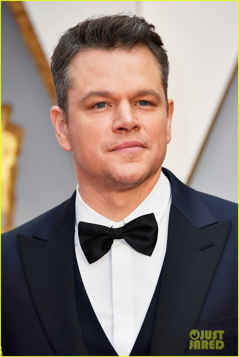 Matt Damon Spills He D...