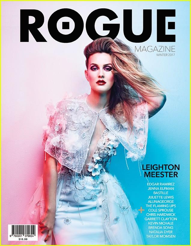 leighton meester rogue magazine 043855087