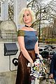 katy perry stylishly sits front fow at london fashion week show 07