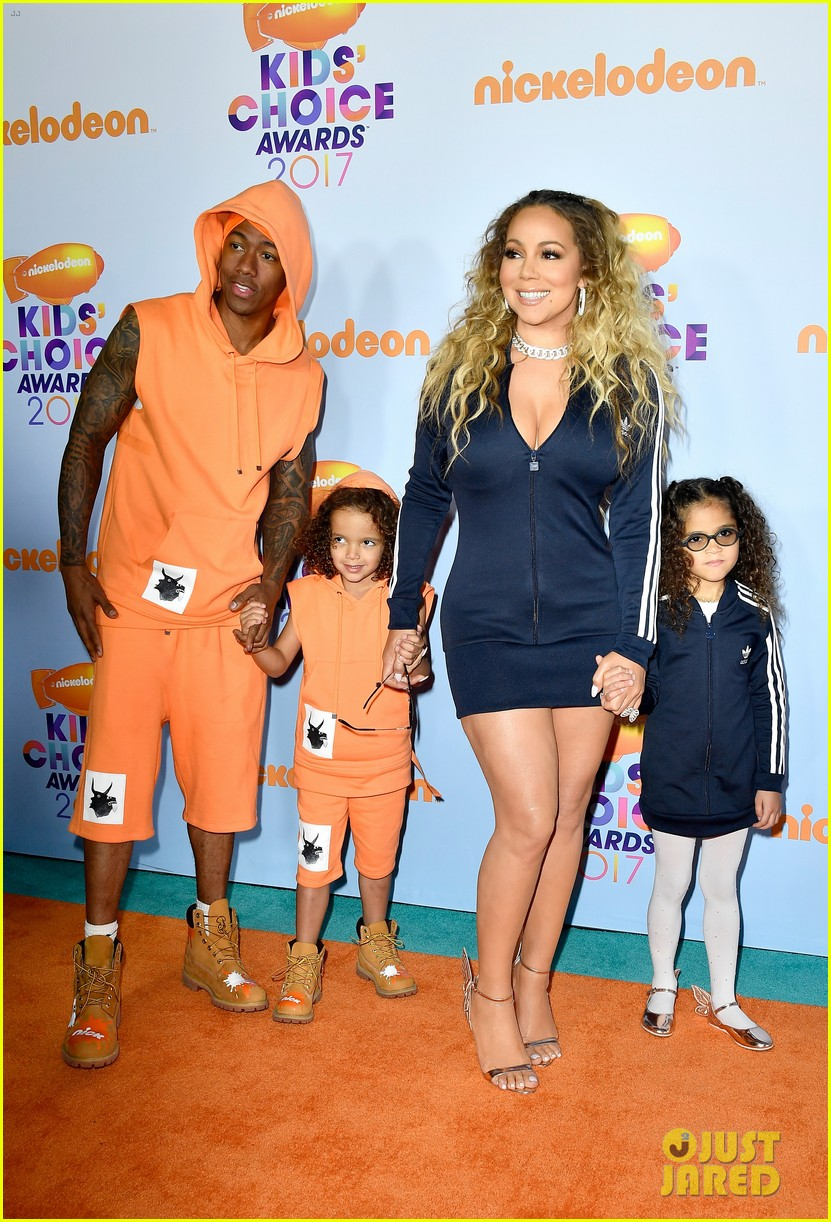 Mariah Carey & Nick Cannon Bring Their Twins to the KCAs ...